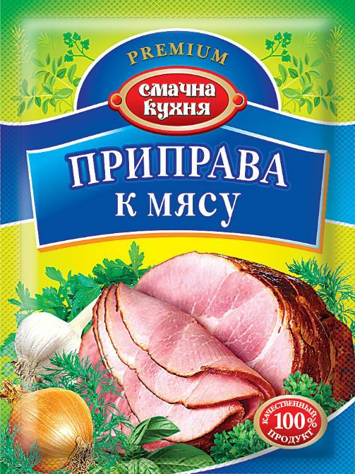 Приправа к мясу ТМ Смачна кухня, 25 г