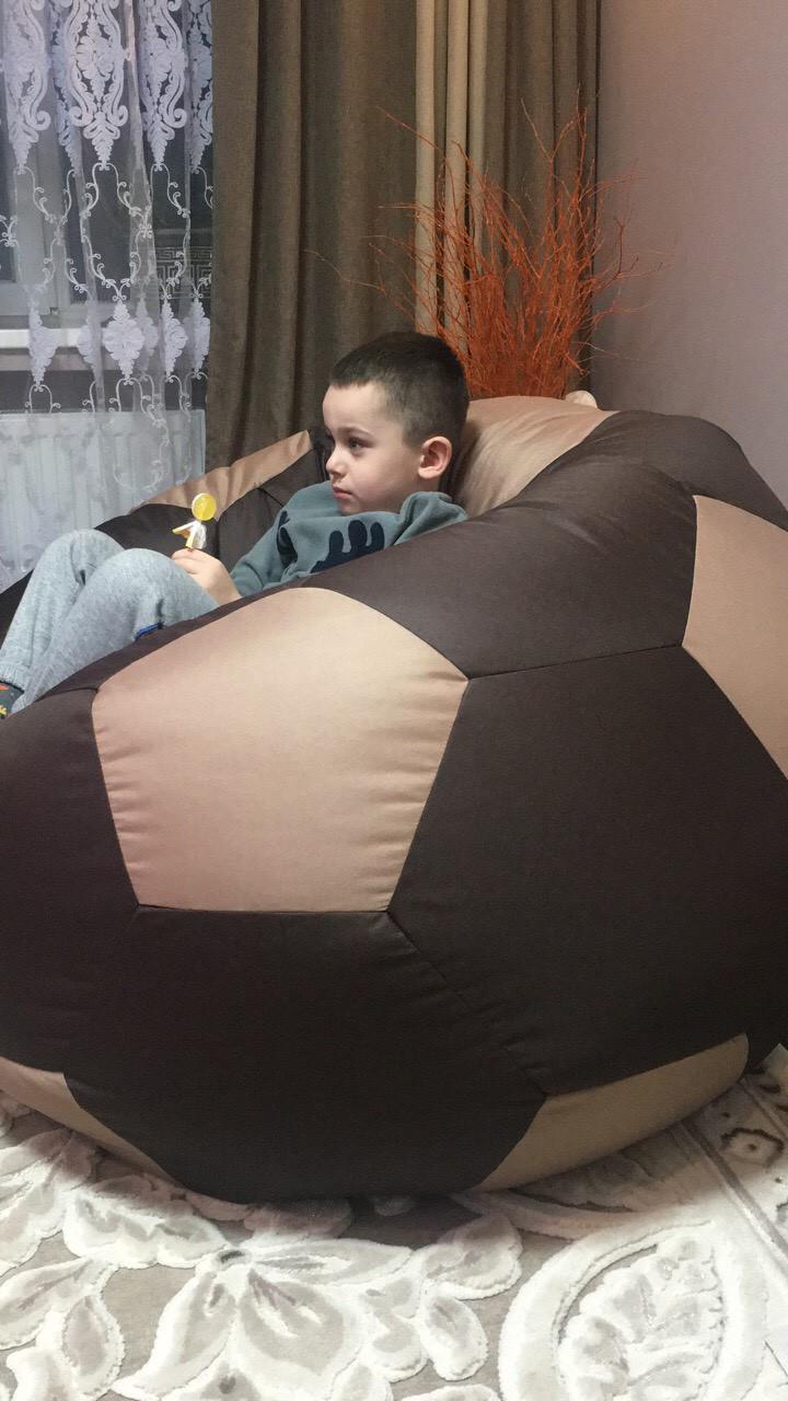 Бескаркасный пуф кресло мяч кресло мешок мягкий пуф бескаркасная мебель 650 грн 65 см детский