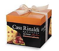 Панеттоне (кулич) c глазированным каштаном Casa Rinaldi 750г