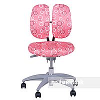 Детское ортопедическое компьютерное кресло FunDesk SST9, розовое, фото 1