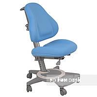 Детское ортопедическое компьютерное кресло FunDesk Bravo, голубое, фото 1