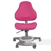Детское ортопедическое компьютерное кресло FunDesk Bravo, розовое, фото 1