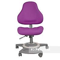 Детское ортопедическое компьютерное кресло FunDesk Bravo, фиолетовое, фото 1
