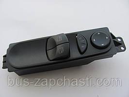 Кнопка стеклоподъемника/регулировки зеркал (левая) MB Sprinter 906, VW Crafter 2006→ Autotechteile  — 100 5495
