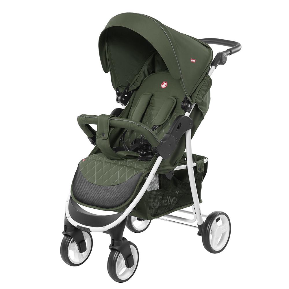 Коляска прогулочная CARRELLO Quattro CRL-8502/1 Mint Green +дождевик
