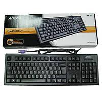 Клавиатура   A4Tech KR-85 USB   X-Slim черная