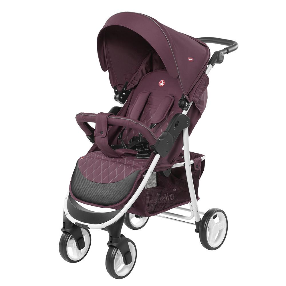 Коляска прогулочная CARRELLO Quattro CRL-8502/1 Lilac Purple +дождевик