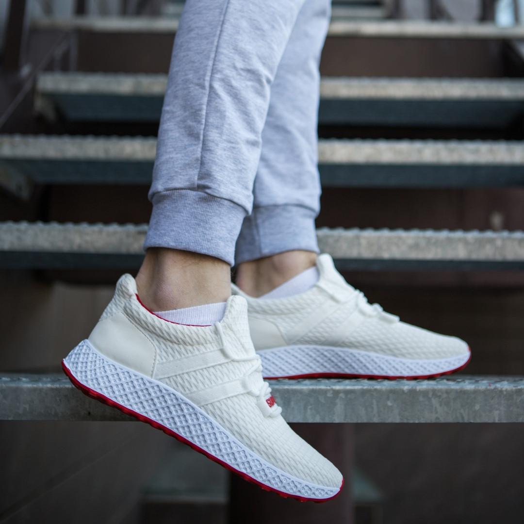 b5635c31 Мужские кроссовки Nike Supreme весна молодежные легкие молодежные из  эластичной ткани белый, ТОП-реплика