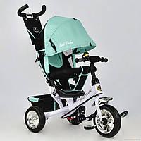Детский трехколесный велосипед Best Trike 6588-0120 колесо пена бирюзовый (6588-0120 бирюзовый)