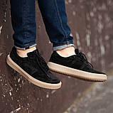 Мужские кроссовки South Loft black, классические замшевые кроссовки, мужские замшевые кеды , фото 4