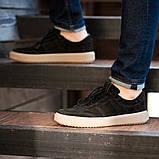 Мужские кроссовки South Loft black, классические замшевые кроссовки, мужские замшевые кеды , фото 5