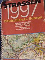 Атлас автомобильных дорог. Германия + Европа.Немецкий язык