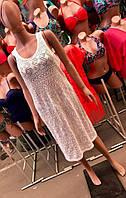 Пляжное  платье-туника РАЗНЫЕ ЦВЕТА Фабричный Китай