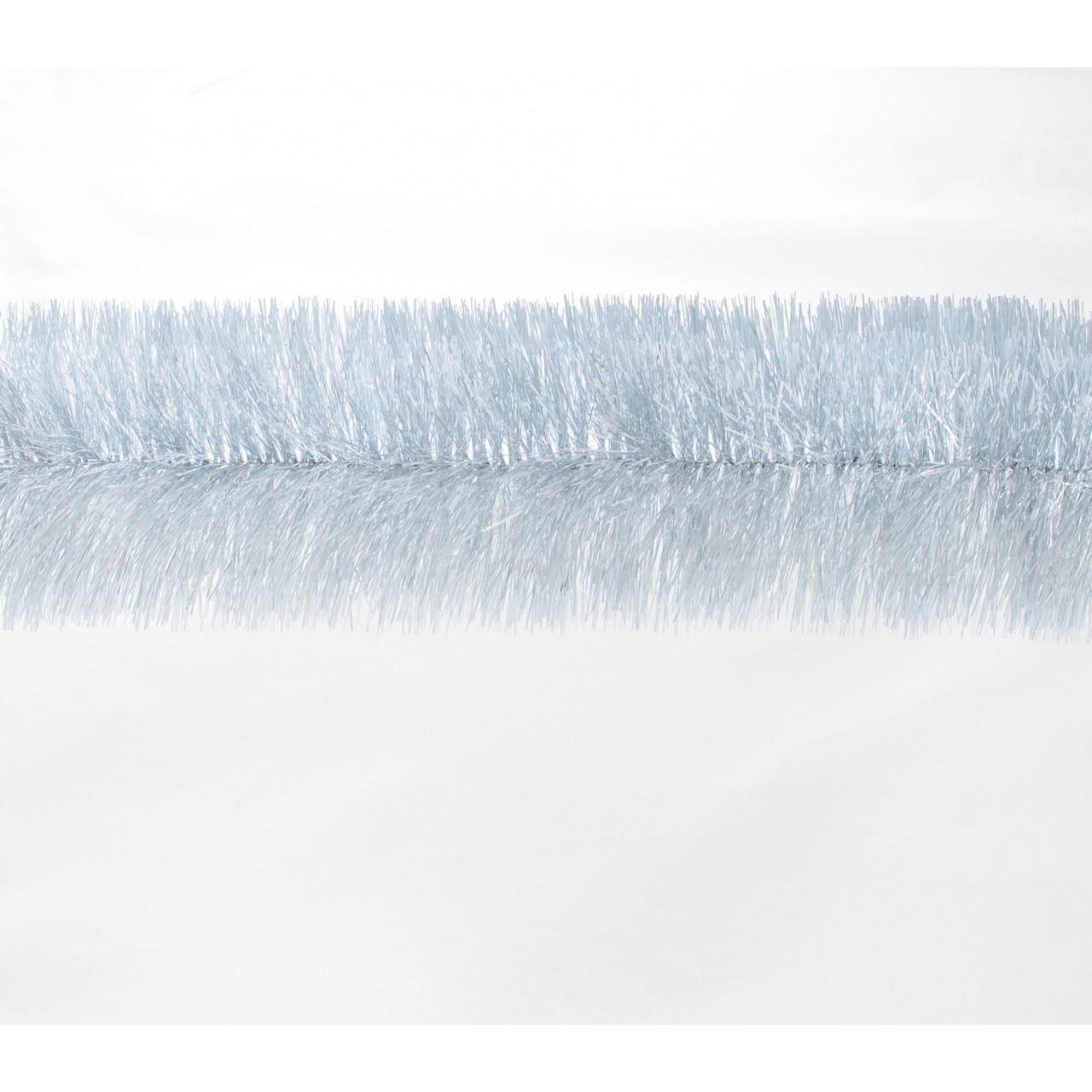 Гирлянда 100 (серебро с бел. кончиками) 3м