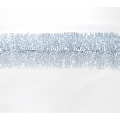 Гирлянда 100 (серебро с бел. кончиками) 3м, фото 2