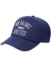 Кепка new balance Athletics Hat LAH91016 в трех цветах (черный BK, синий TNV, серый PE)