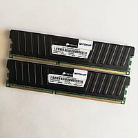 Комплект оперативной памяти Micron DDR3 8Gb (4Gb+4Gb) 1600MHz PC3-12800 CL9 Б/У, фото 1