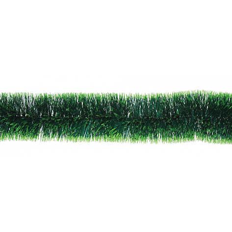 Гирлянда 75 (зеленая матовая с св. зелеными конч.) 2м, фото 2
