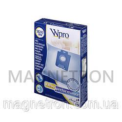 Комплект мешков SB242-MW Wpro (4 шт) + фильтр для пылесоса Whirlpool 481281718617
