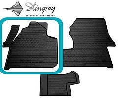 Volkswagen Crafter 2006- Водительский коврик Черный в салон