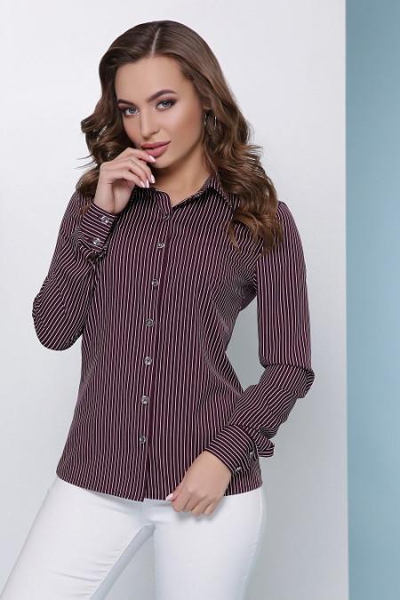 Рубашка Рита баклажановый (42-50)