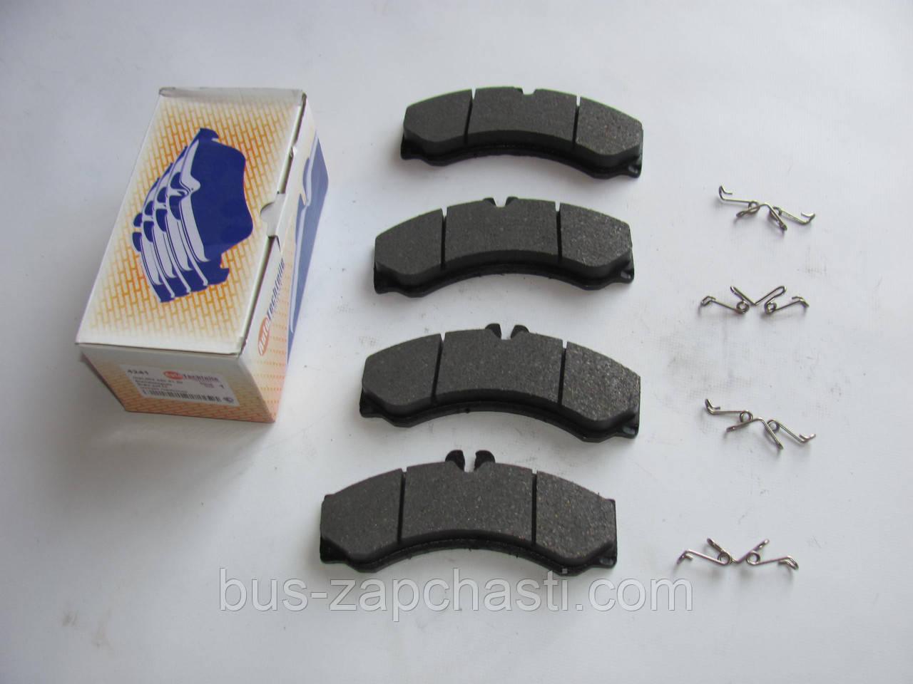Передние / задние колодки MB Sprinter 408-416, VW LT 46 1996-2006 — Autotechteile (Германия) — 100 4241