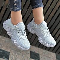Женские модные кроссовки YEEZY 500, на толстой подошве (Код: 1411а)
