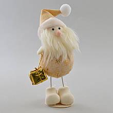 Дед Мороз декорированный золотом