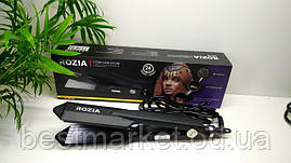 Утюжок гафре для волос Rozia HR-746