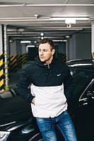 Анорак стильный | Куртка Nike лого галочка вышит