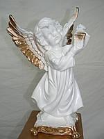 Ангел с фонариком 34 см. (тонированный)