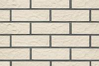 Oslo плитка клинкерная жемчужно-белый рифленый