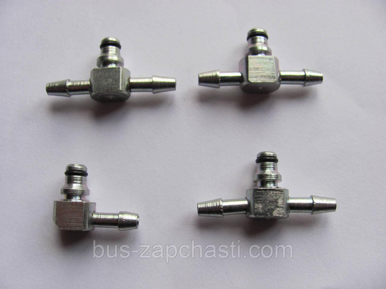 Штуцер шланга обратки (компл./метал) MB Sprinter/Vito 2.2 CDI (OM611) 2000-2006 — Rotweiss (Турция) — RW07007