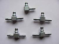 Штуцер обратки (комплект) метал. на MB Sprinter 2.7 CDI (OM612) 2000-2006 — Rotweiss (Турция) — RW07008, фото 1