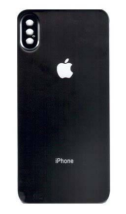 Защитное стекло Baseus 0.3 мм silk-screen Back glass film for iPhone X/XS, фото 2