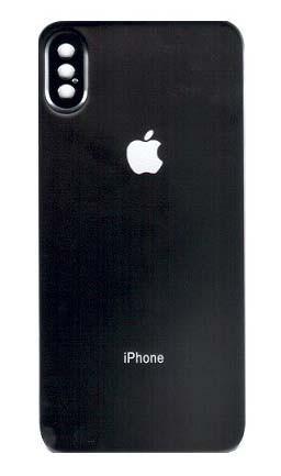 Защитное стекло Baseus 0.3 мм silk-screen Back glass film for iPhone X/XS