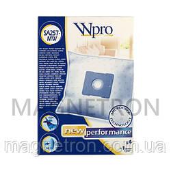 Комплект мешков SA257-MW Wpro (4 шт) + фильтр для пылесоса Whirlpool 481281718604