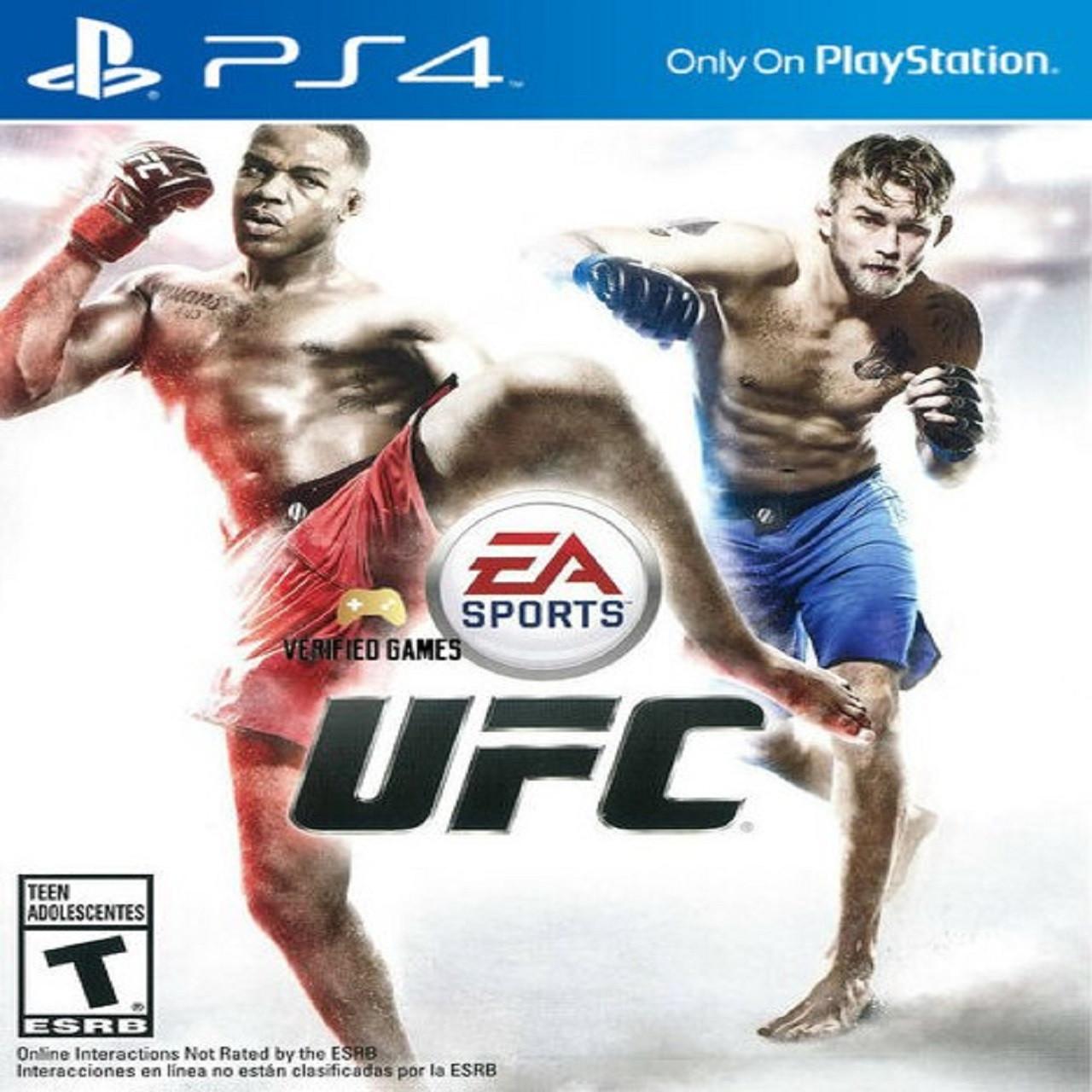 UFC ENG PS4 (Б/В)