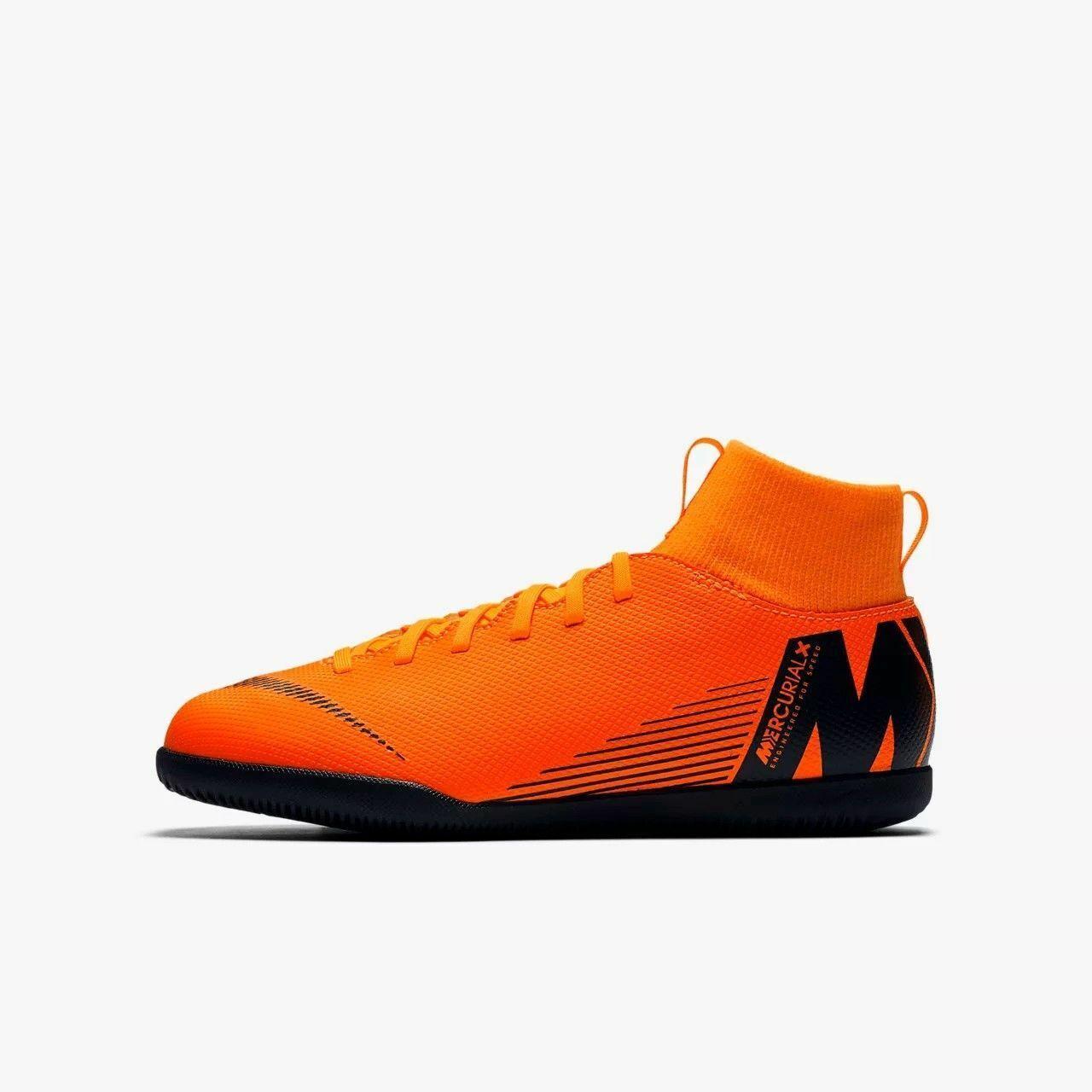 Детские футзалки Nike Mercurial SuperflyX 6 IC Оригинал  AH7346-810