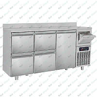 Стол холодильный барный GGM Gastro BGKF216A#2#SBGKF12