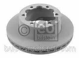 Задний тормозной диск (303x28) на MB Sprinter 906 515-519, VW Crafter 50  2006→ — Febi (Германия) — 27700