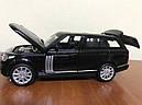 Машинка коллекционная Range Rover 1:32, фото 4