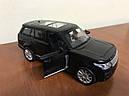 Машинка коллекционная Range Rover 1:32, фото 6