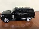 Машинка коллекционная Range Rover 1:32, фото 8