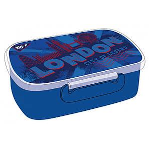 """Контейнер для еды """"London"""", 420 мл, с разделителем, фото 2"""