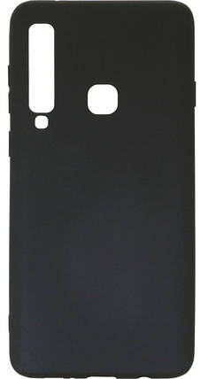 Силикон для Samsung A920 (2018) Black Soft Touch, фото 2