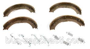 Колодки ручника (с пружинками) на MB Sprinter 906, VW Crafter 2006→ — Solgy — 209051