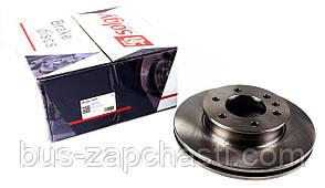 Передний тормозной диск MB Sprinter/VW Crafter 06- (299.6x28) — Solgy— 208004