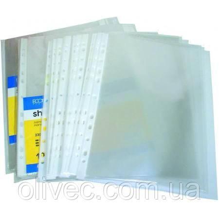 """Файлы """"Economix"""" А4, 30 мкм, 100 шт."""