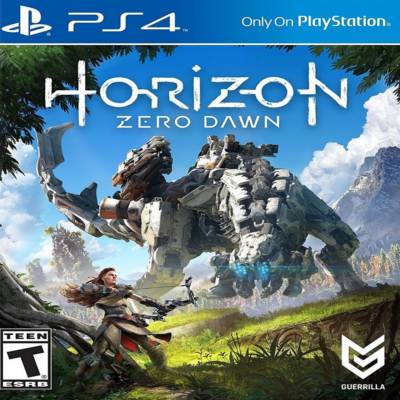 Horizon Zero Dawn PS4 (русская версия) (Б/У)